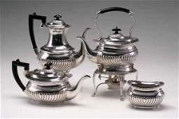 93: SHEFFIELD PLATE TEA SET