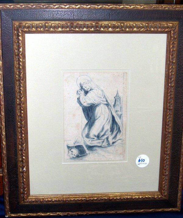 610: ART Italian School (18th Century)