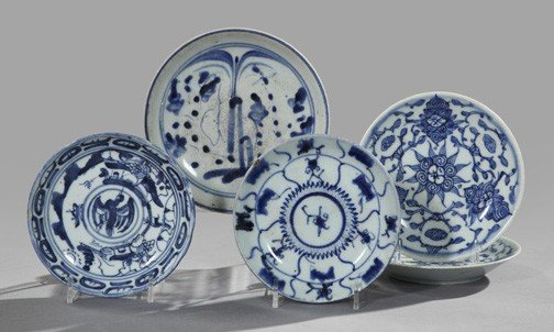 7: Chinese Export Porcelain Dishes
