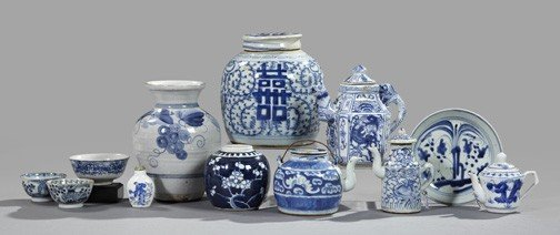 10: Chinese Export Blue and White Porcelain