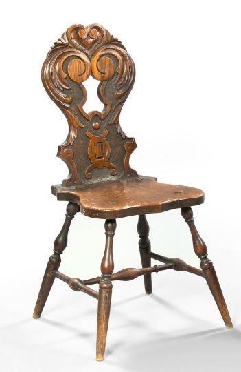 16: English Oak Sidechair,