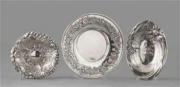 876: American Sterling Silver Dishes