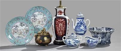 1316 Porcelain and Enameled Asian Wares