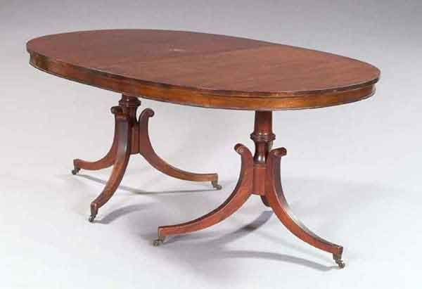 2: REGENCY DINING TABLE