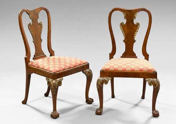 18: PAIR GEORGE III SIDE CHAIRS