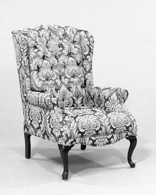 19: QUEEN ANNE WING CHAIR