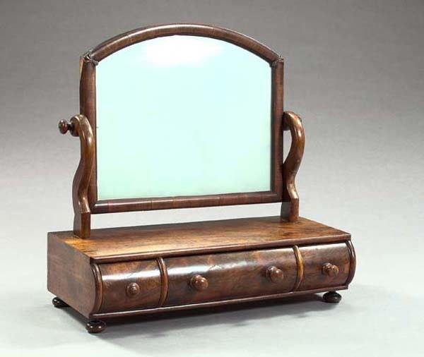 21: GEORGE III SHAVING MIRROR