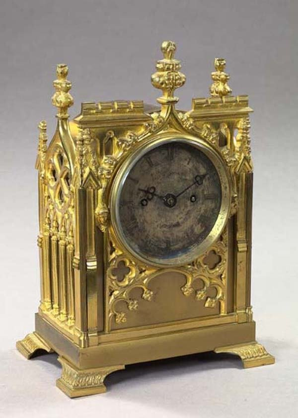 1104: S. HAMMOND LONDON MANTEL CLOCK