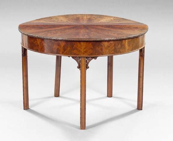 11: English Mahogany Table