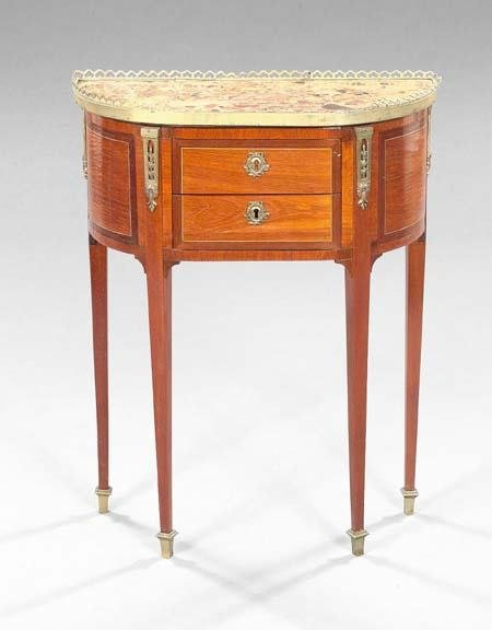 602: French Marble-top Commode