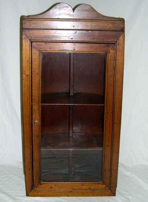 13: George III-Style Mahogany Hanging Cupboard