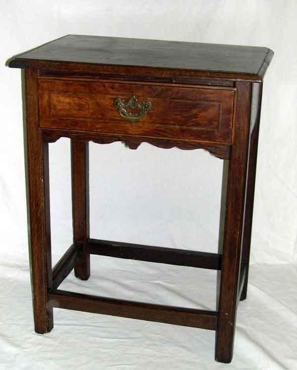 14: English Oak Side Table