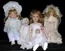 Collection of Five Dolls