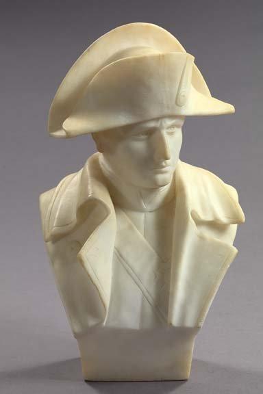 12: Carrara Marble Bust of Emperor Napoleon I