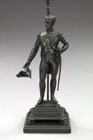 13: Brass Figure of the Youthful Napoleon Bonaparte