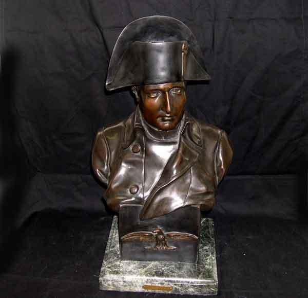 14: Bronze Bust of Emperor Napoleon I
