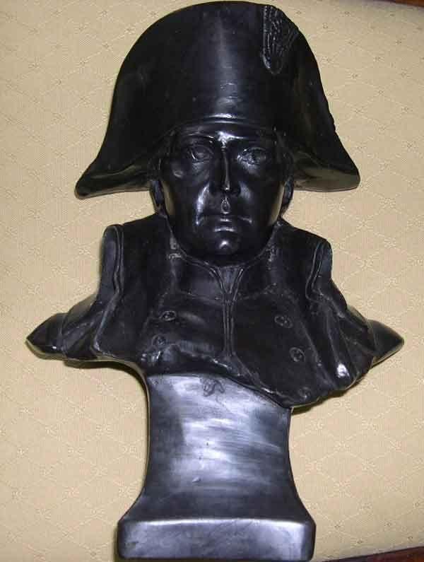 15: Bronze Table Bust of  Emperor Napoleon I