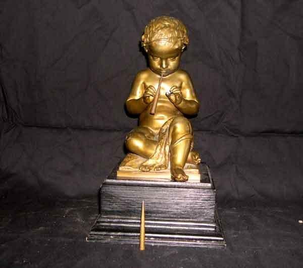 23: Good German Patinated Bronze Figure