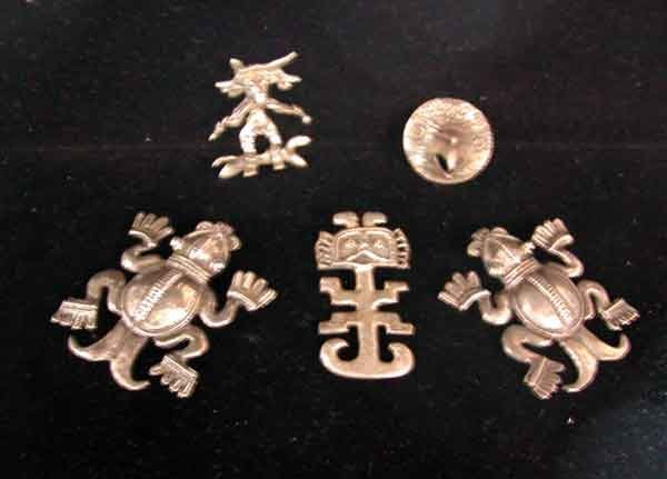 688: Five-Piece Group of Silver Jewelry