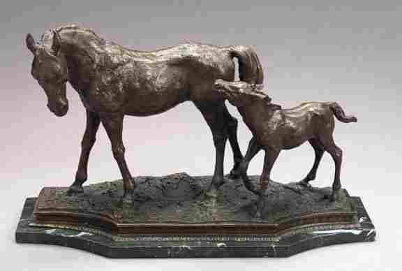 725: After P. J. Mein Bronze Animalier Group