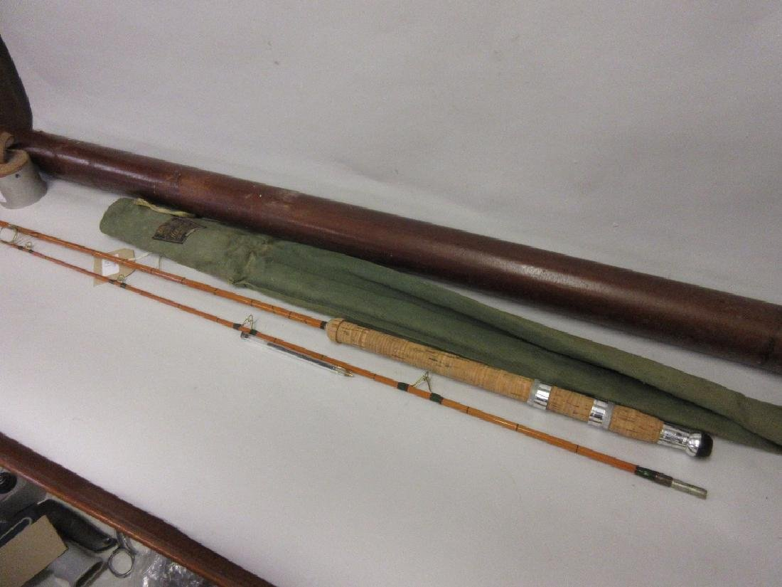 Hardy ' The Wanless ' 7/8lb split cane rod with