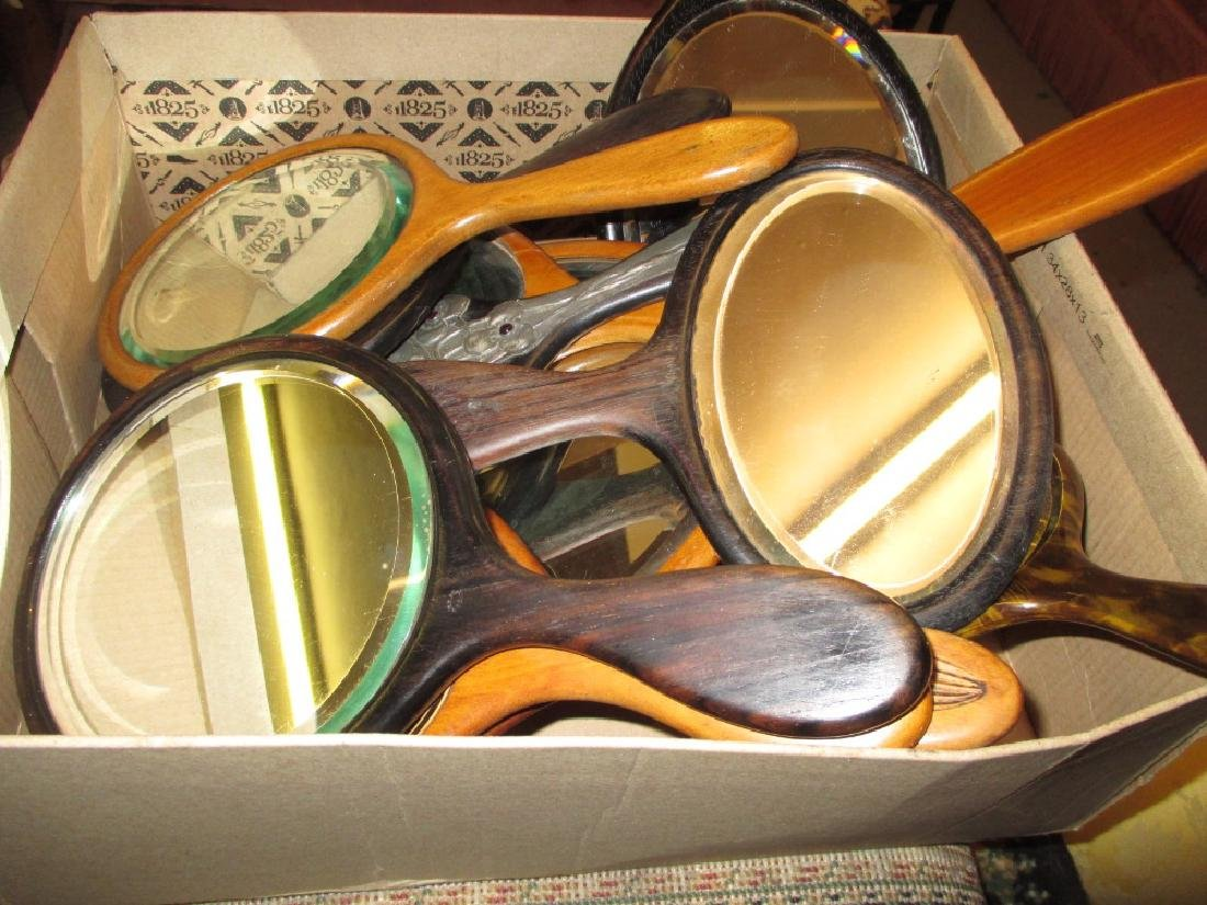 Collection of 19th and 20th Century ebony, satinwood