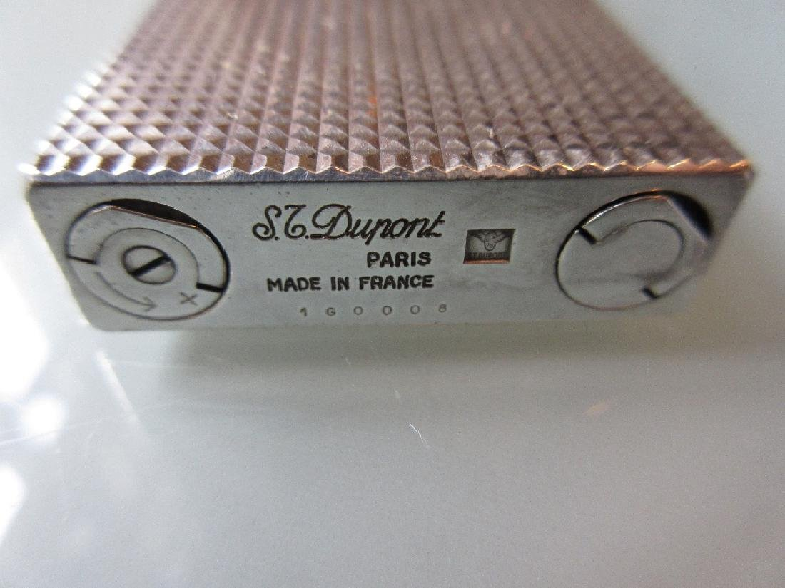 Dupont silver plated lighter in original box - 2
