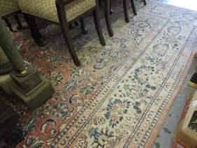 Late 20th Century Sarouk carpet with a medallion and
