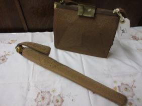 Ladies Corde handbag with matching umbrella
