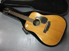 Susiki, twelve string acoustic guitar with travelling