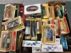 Collection of various Matchbox models of Yesteryear,