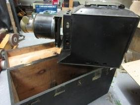 19th Century magic lantern together with a large