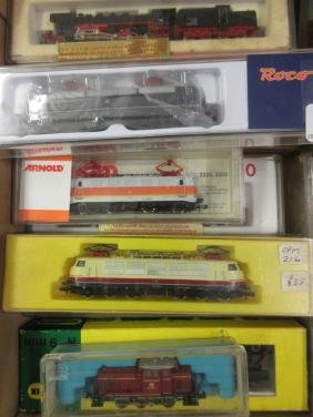 Collection of fifteen various N gauge locomotives by