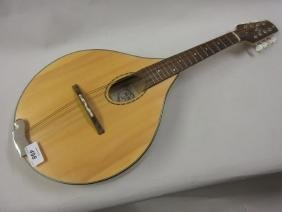 Mandolin by Phil Davidson, Bristol, with a spruce top,
