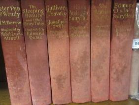 Six volumes, ' The Sleeping Beauty ', ' Arabian Nights