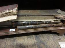 Large leather bound Book of Common Prayer dated 1822