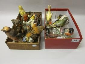 Collection of twenty two Goebel figures of birds, a