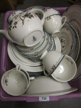 Royal Doulton Old Colony pattern dinner and coffee