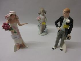 Pair of Goebel figures, ' Waiting for his Love ' and '