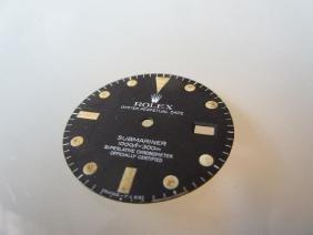 Rolex Submariner black replacement dial