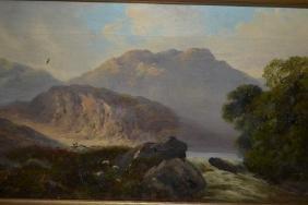 John Henry Boel, pair of 19th Century oil paintings on