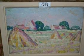 20th Century French Impressionist school, oil on panel,