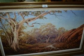 Olga C. Garner, 20th Century Australian school, oil on