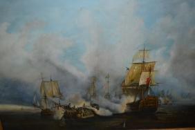 D.A. Noding, 20th Century oil on canvas, seascape, '