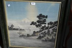 Late 19th or early 20th Century Japanese painting on