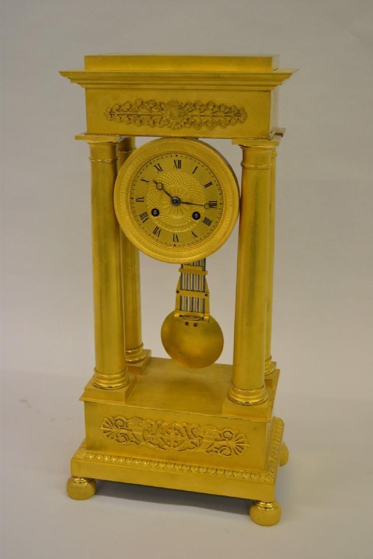 19th Century French Empire period matt gilded ormolu