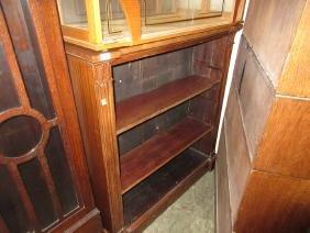 19th Century three shelf open bookcase