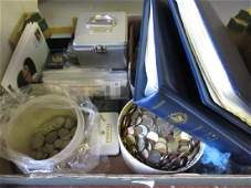 Quantity of various predecimal British silver coinage