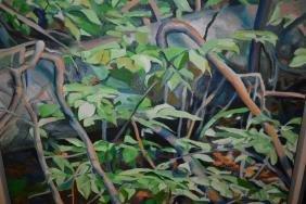 L. Gleason, Pair Of Oil Paintings On Canvas, Studies Of