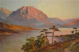 F.E. Jamieson, pair of oil paintings on canvas, ' The